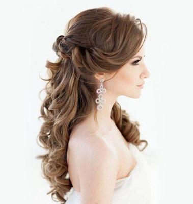 Peinados y maquillaje para la novia